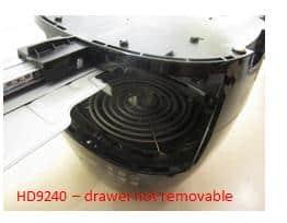 Airfryer verwarmingselement