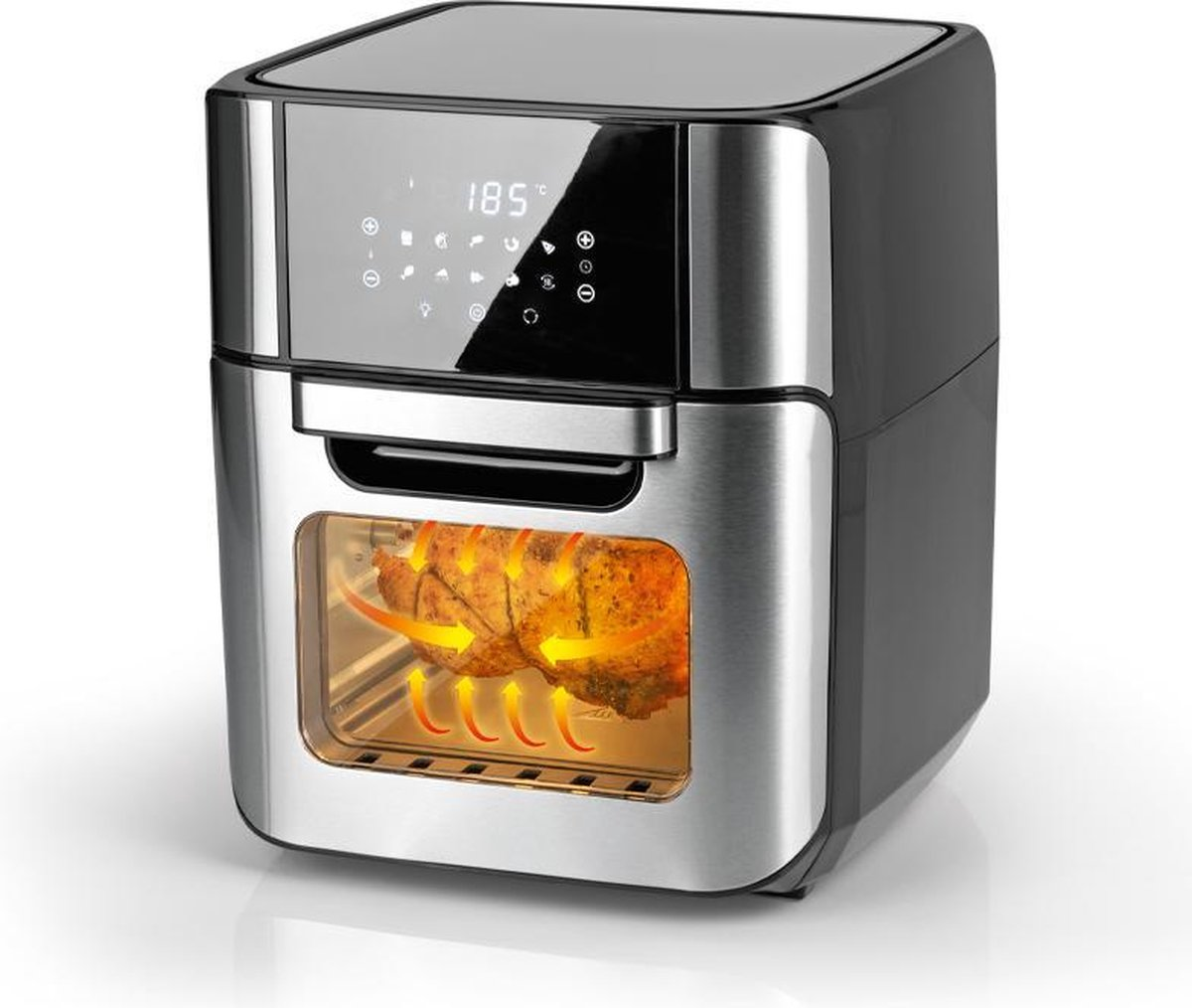 Molino Heteluchtfriteuse XXL - Hetelucht friteuse - 12 liter - Incl. accessoires
