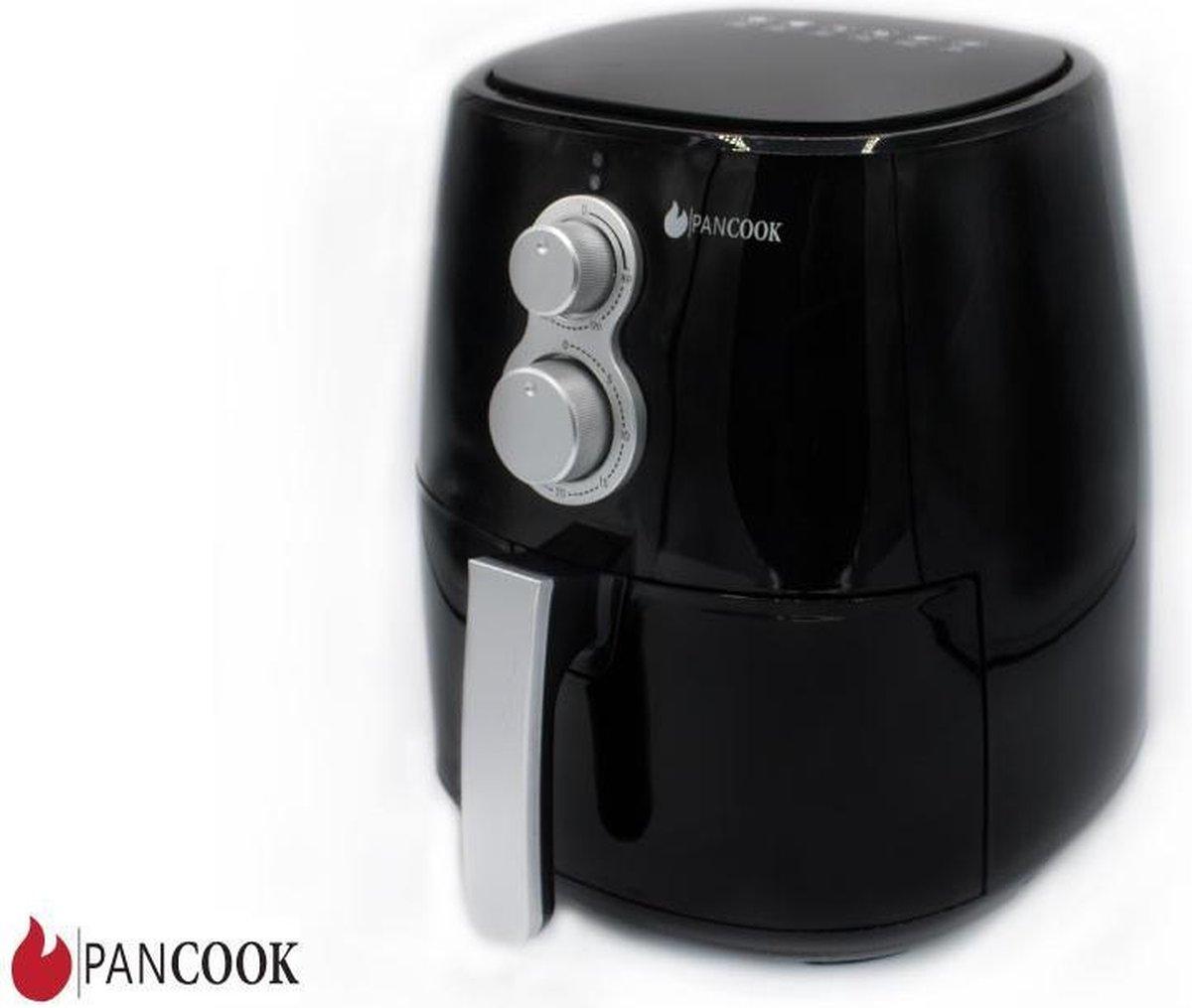 Pancook - Hetelucht friteuse - airfryer - zonder olie - 3.5-4 l