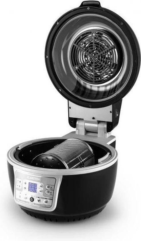 Klarstein VitAir Turbo hetelucht friteuse 9 liter - 1400w halogeen-infrarood verwarmingselement