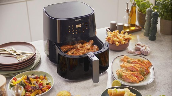 Philips Airfryer XL Essential HD9280/90 - Hetelucht friteuse - App connect