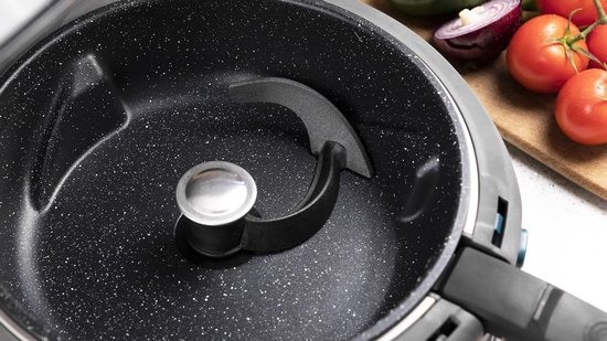 Cecotec Dieetfriteuse 4D Healthy - Olievrije 360°- kooksysteem - Airfryer - Oven - Hetelucht friteuse - Frituurpan
