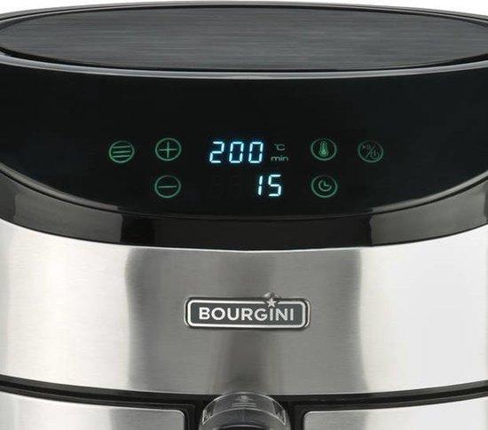Bourgini heteluchtfriteuse 18.2144 XL - RVS