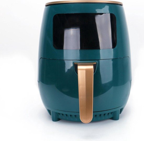 CF Cooking®   XL Digital Airfryer   5.5L   Forest Green & Gold