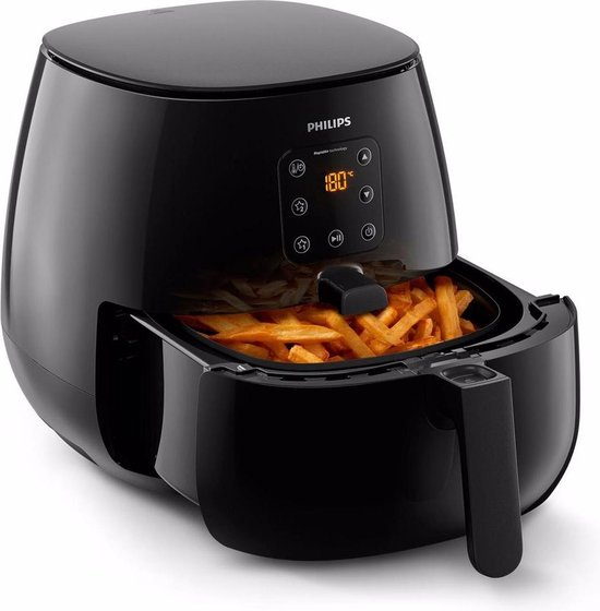 Philips Airfryer XL Essential HD9262/90 - Hetelucht friteuse incl. snackdeksel