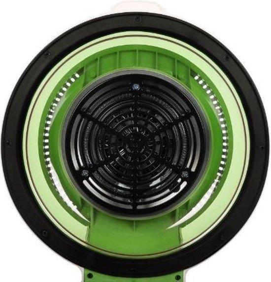 VitAir hetelucht friteuse groen 1400W Grillen Bakken 9 liter