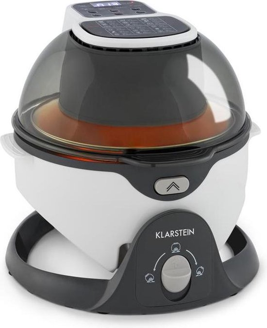 Pommesmaster heteluchtfriteuse 360° 1400W 50-240°C timer