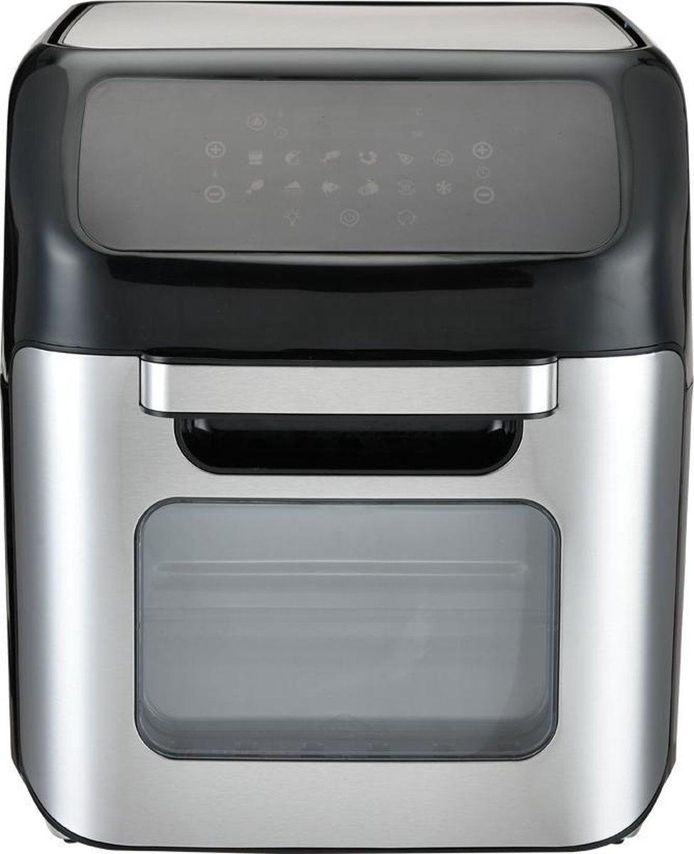 BluMill Air Fryer Oven - XXL Airfryer - Voor het hele gezin - 12L - 1800W