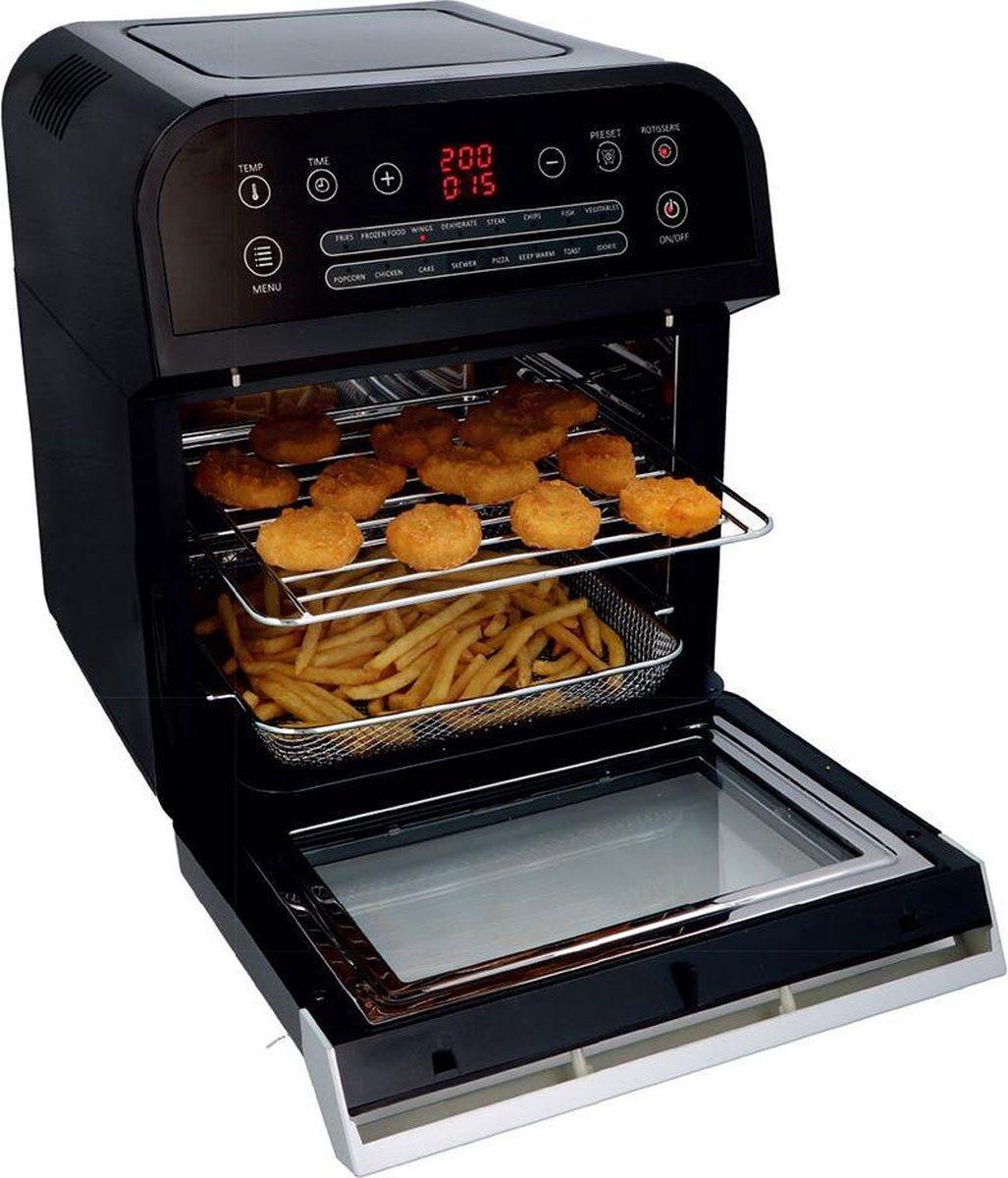 INUVIK Hetelucht friteuse I-AFO1201EB