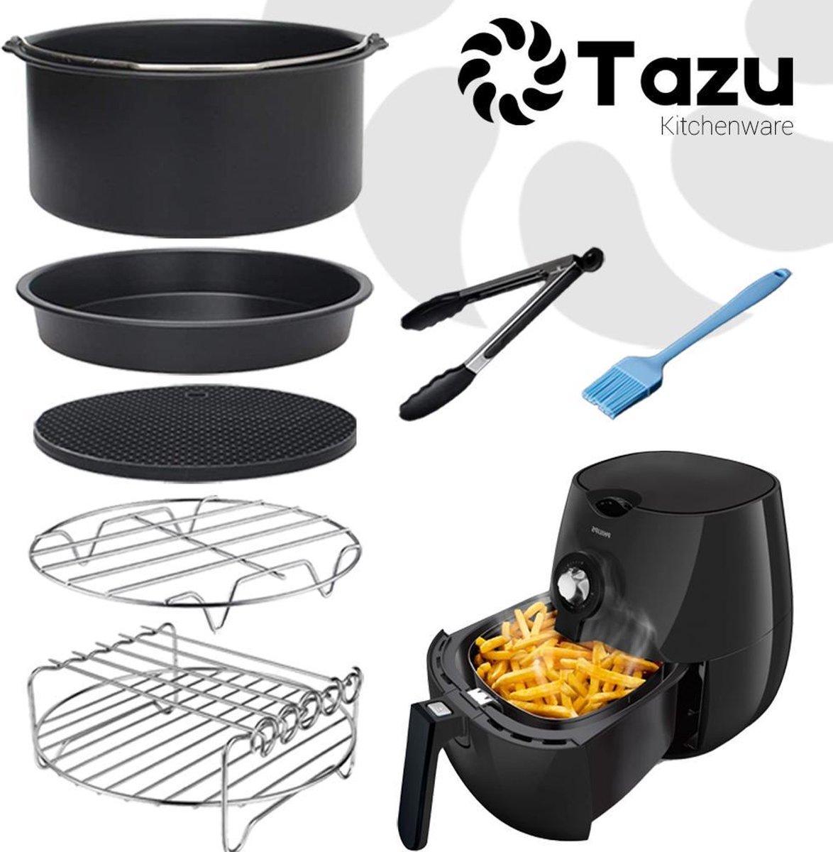 Tazu Heteluchtfriteuse Accessoireset XL - ⌀ 20cm