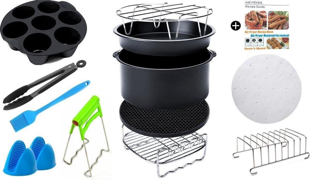 13 Delige Set - Heteluchtfriteuse Accessoires - Air Fryer