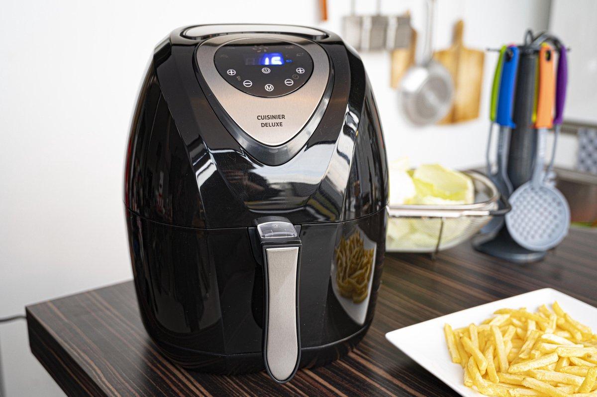 Cuisinier DeLuxe - Hetelucht friteuse