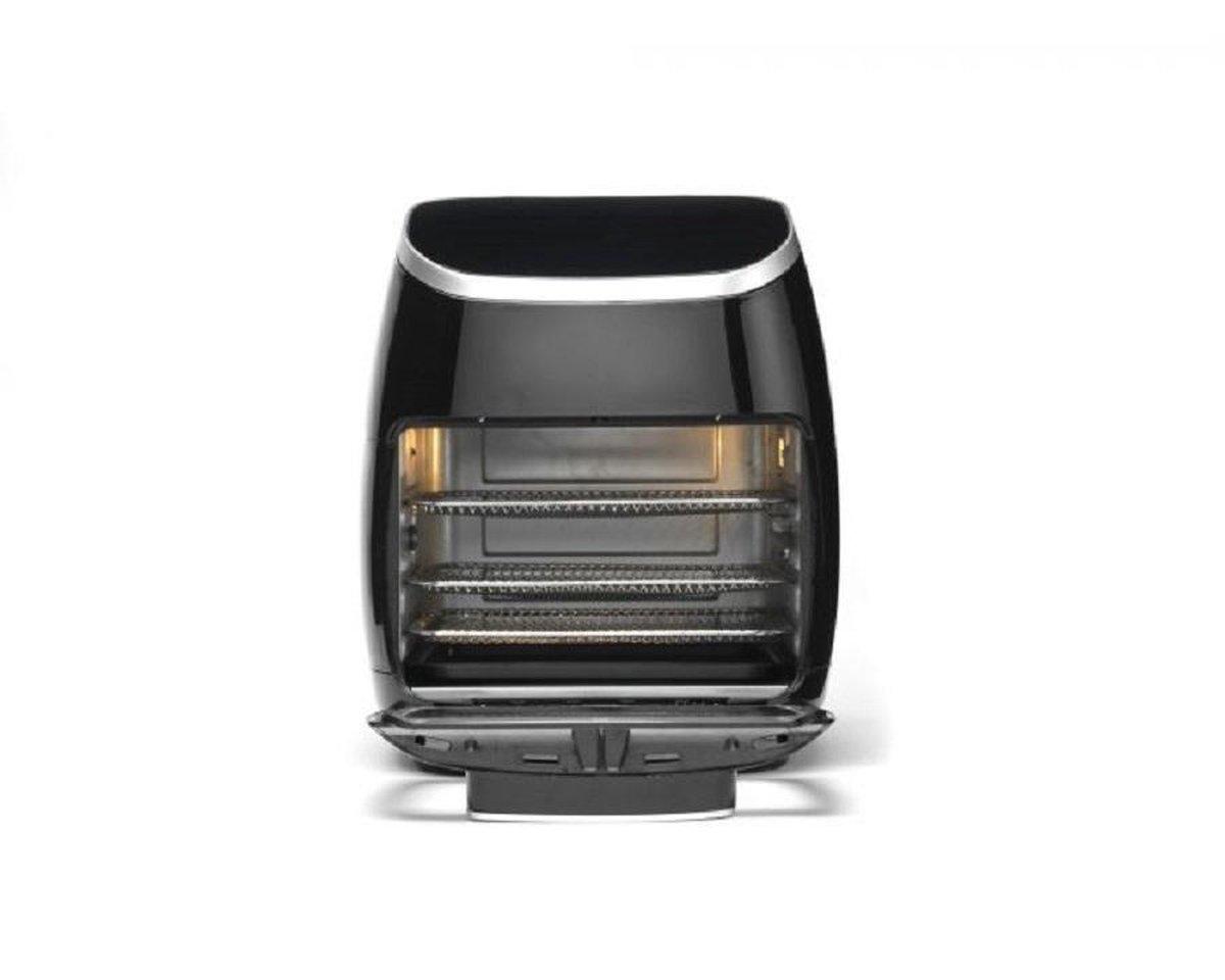 Trebs 99364 - Multifunctionele hetelucht oven - Zwart