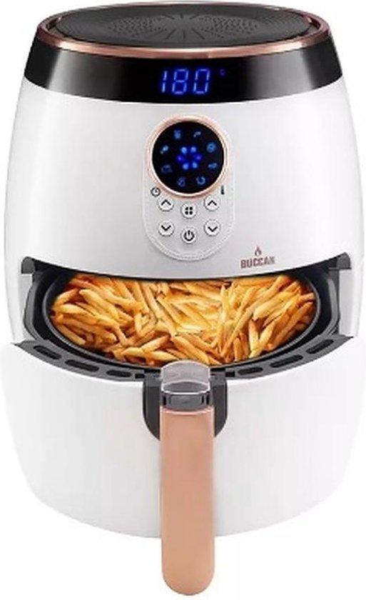Buccan Hetelucht friteuse - 2,6 Liter - Wit
