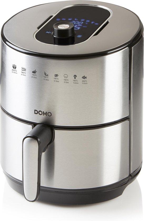 Domo DO530FR - Heteluchtfriteuse - 4L - Zilver