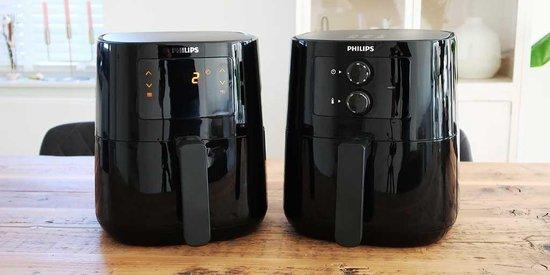 Spatdeksel Airfryer Essential L voor de Philips HD9252/90 (digitaal) en HD9200/90 (analoog)