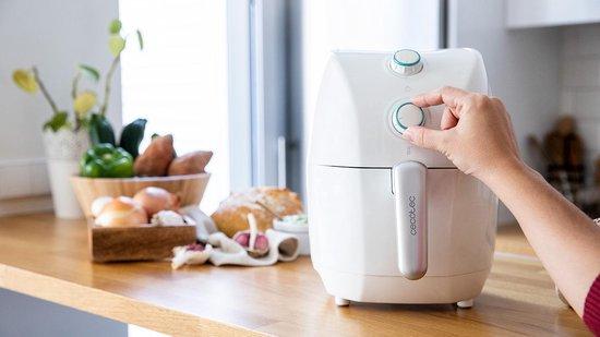 Cecotec - Heteluchtfriteuse - Oven - Timer -  Incl. Receptenboek - Wit