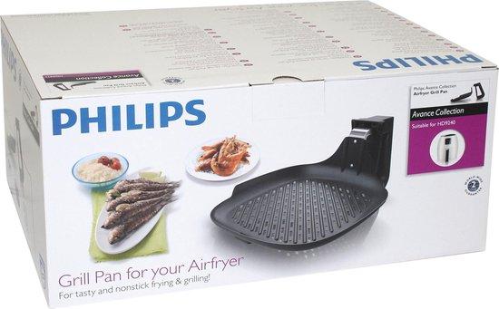 Philips Airfryer HD9911/90 - Grillpan voor de Avance Airfryer