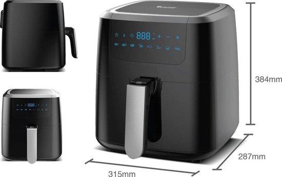 Z-Line Digitale Hetelucht Friteuse - Type: TT-AF4 - 5 Liter