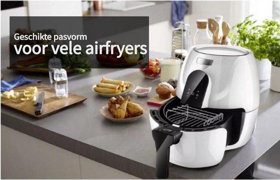 Grillrooster voor Philips Airfryer XL - Dubbellaags rekje met spiesen - Inclusief Cupcake Vorm - Grillplaat accessoire