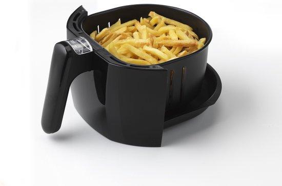 Trebs 99354 - Hetelucht friteuse 1,5l met oververhittingsbeveliging - Zwart
