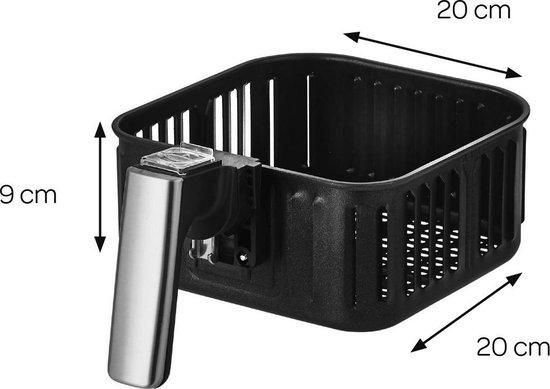 Inventum GF350HLD - Heteluchtfriteuse - Zwart