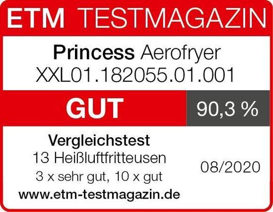 Princess 182055 Digital Family Aerofryer XXL - Heteluchtfriteuse