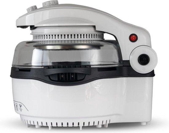 BluMill Multi Fryer Halogeenoven - 12-in-1 Airfryer - Halogeen Heteluchtoven - 1400 Watt - 11 Liter - Gezonde Keuze