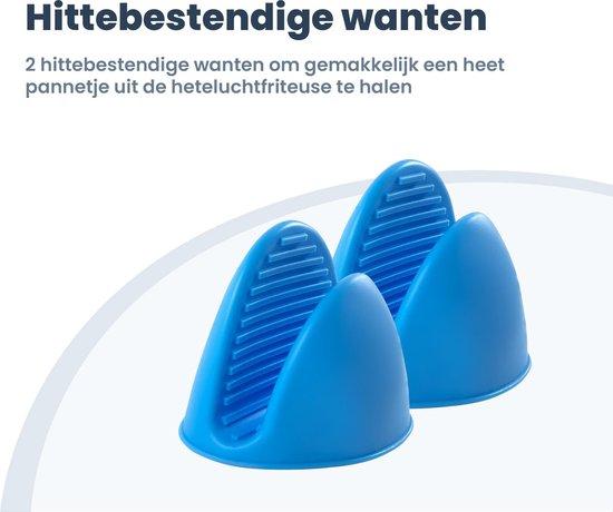 Fentic - Heteluchtfriteuse accesoires - Bakset - 14-delige set - Geschikt voor XL en XXL Heteluchtfriteuses - Inclusief  'Airfryer Receptenboek'