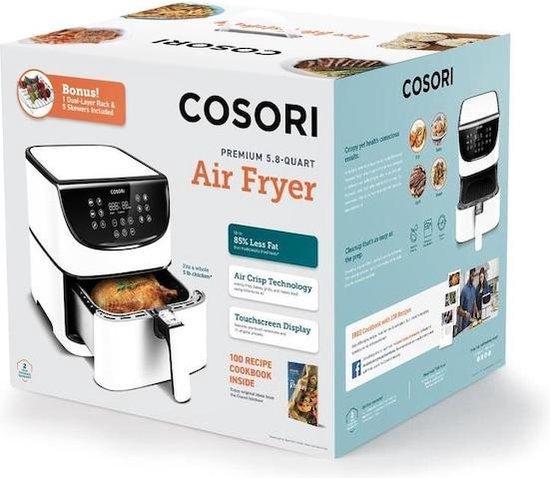 Cosori-CP158 AFRXW-Heteluchtfriteuse-5.5Liter-Wit