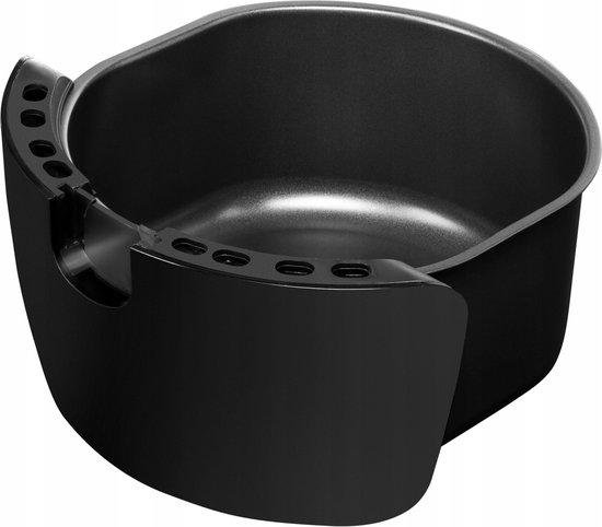 ZEEGMA Knapper - Heteluchtfriteuse 3,2 liter - Zwart