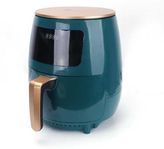 Swiss Pro+ | SP-AF5.5L - Intelligente Airfryer Digitaal- 5,5L - XXXL - New Model 2021 - Olive Green