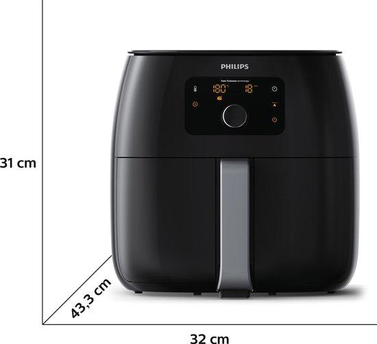 Philips Viva Airfryer XXL HD9630/90 - Hetelucht friteuse - Zwart