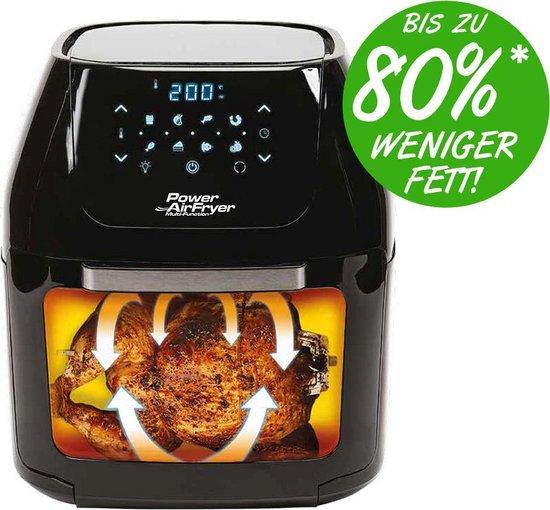 Power XL Hetelucht friteuse Multi-Function - Gezonder frituren - 10 liter - Fryer met Roosters en Frituurmand
