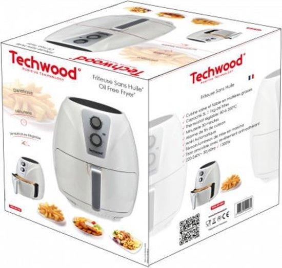 Techwood - Hot Airfryer - TFR-301SH - Hetelucht Friteuse - 3L