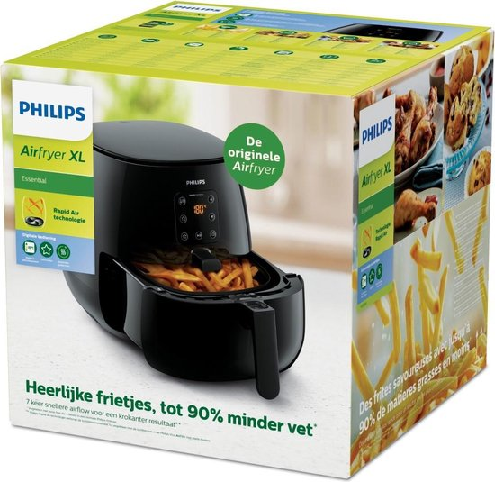 Philips Airfryer XL Essential HD9260/90 - Hetelucht friteuse