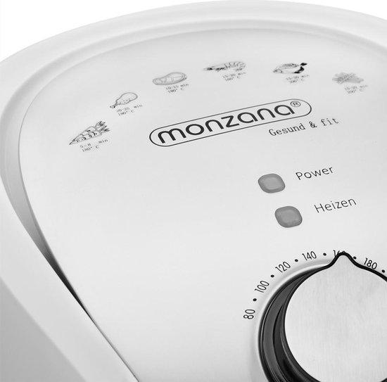 Monzana Heteluchtfriteuse  9-in-1 3,6 liter - wit