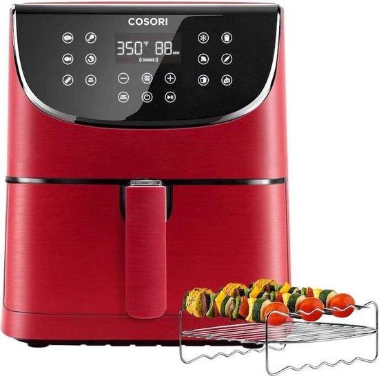 Cosori-CP158 AFRXR-Heteluchtfriteuse-5.5Liter-Rood