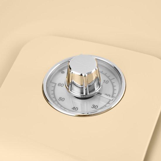 Swan Retro Heteluchtfriteuse - Creme - 6 Liter