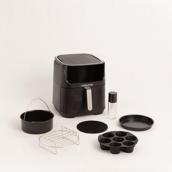 Pakket met keukenaccessoires voor FRITEUSE AIR SMART 5.5L Air Fryer