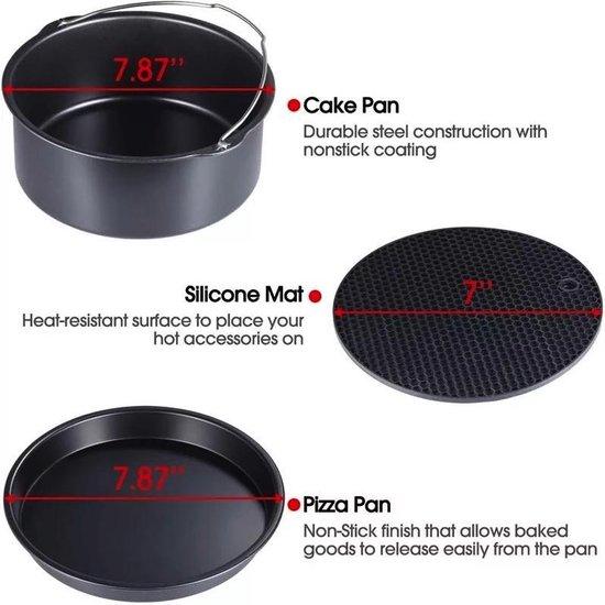 Kitool Base - 13-Delige accessoireset voor Heteluchtfriteuses