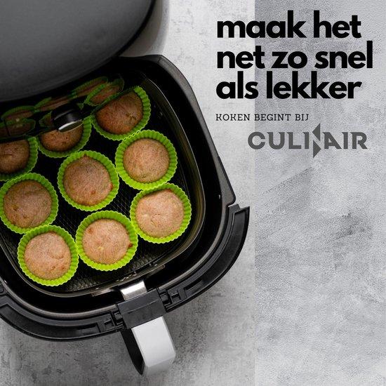 Culi-N-Air - Heteluchtfriteuse XXL Accessoires Set - Inclusief Kookboek - 5-Delig