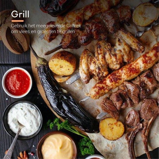Ocina - Airfryer Accesoires - 13-delige set - Airfryer - Hetelucht Friteuse - Incl. kookboek - Geschikt voor Airfryer