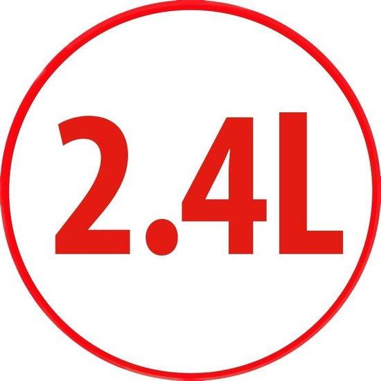 Alpina Hetelucht Friteuse L - 2,4 Liter - 80-200°C - Timer - 1500 Watt - Zwart