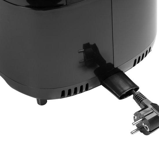 Bestron AAF7003DCO PrepAir Digitale Heteluchtfriteuse 4L 1300W Zwart/Koper
