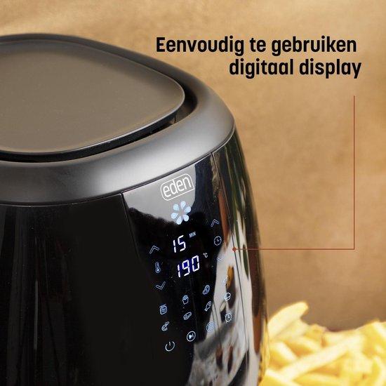 Eden ED-7005 Airfryer - Inhoud: 3.5 liter - Digitale bediening
