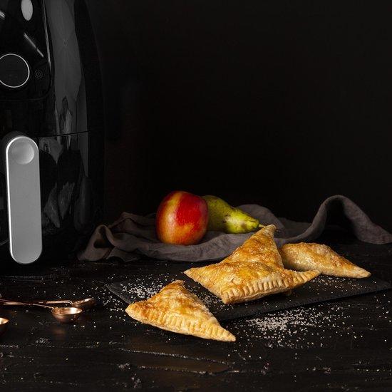 Excluzivo® Heteluchtfriteuse accessoires - Airfryer Accessoires - 16-delige set - Incl. Kookboek - Geschikt voor XL en XXL Heteluchtfriteuses