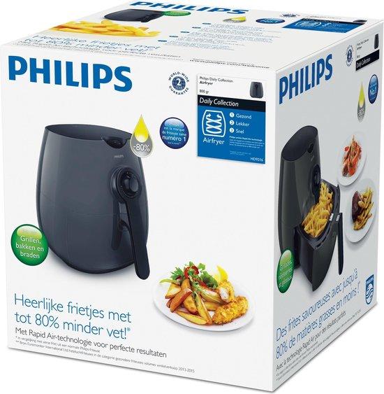 Philips Daily Airfryer HD9216/40 - Hetelucht friteuse - Grijs