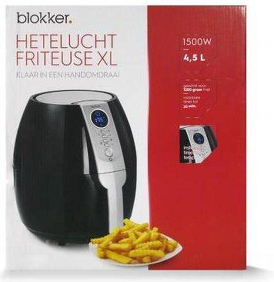 Blokker - Heteluchtfriteuse - BL-18101