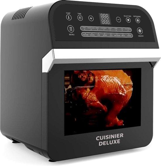 Cusinier Deluxe - Heteluchtoven - XL